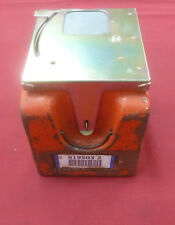 Used Western Electric Orange Black Coin Box w/ Lid Money Box Northern Telecom