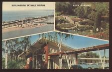 Postcard BURLINGTON Ontario/CANADA  Town & Country Motel Motor Court view 1950's
