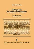 Max Draeger, Hugo Sirk - Mathematik für Naturwissenschaftler