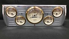 1941 1942 1943 1944 1945 1946  CHEVY TRUCK 5 GAUGE CLUSTER GOLD