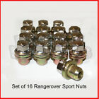 16 x Alloy Wheel Nuts fits Genuine Range Rover sport Discovery 3 LM322 Free P&P