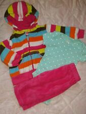 Baby girl clothes 3 months 3 pc outfit Carter's set fleece jacket pink ~☆CUTE☆~