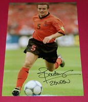 BOUDEWIJN ZENDEN HOLLAND NETHERLANDS SIGNED 12X8 AUTOGRAPH PHOTO SOCCER