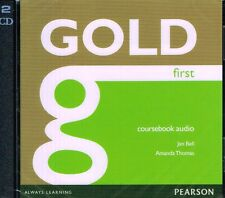 Pearson GOLD FIRST FCE Coursebook AUDIO CDs (2) | Jan Bell & Amanda Thomas @NEW@