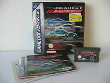 Nintendo Gameboy Advance GBA SP DS - Top Gear GT