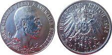 J169a 2 RM SCHWARZENBURG SONDERSHAUSEN Karl Günther 1905 A in f.STG