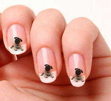 20 Nail Art Stickers Transfers Decals #149 - Pug - dog Just peel & stick
