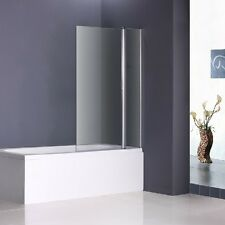 1000x1500mm 180° Pivot Bath Shower Screen Glass Door Panel Nextday Delivery B36