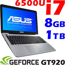"ASUS X556UV Latest 6th-GEN CORE i7 6500U Geforce-GT920 Gamer 8GB 1TB 15.6"" Win10"