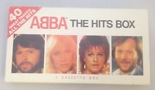 Abba The Hits Box 40 Great Tracks 3 Cassette Box - Tapes Are New And Sealed Rare