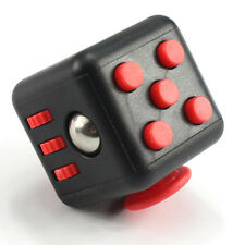 1Pc Stress Relief Focus 6-side Fidget Cube Dice Gift Adults Kids Fun Anxiety Toy
