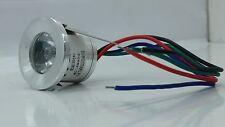 FARETTO LED 3W PUNTO LUCE RGB IP20 AD INCASSO  5v