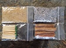 Fatwood Firestarter Survival Sticks Chips Dust Magnesium Matches Strike Anywhere
