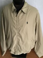 Polo Ralph Lauren Jacket Harrington Windbreaker Bomber Aviator Coat Men L Pony