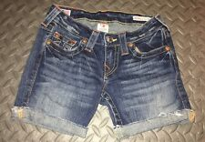True Religion Cut Off Shorts Size 25
