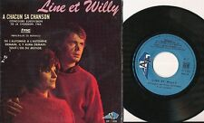 EUROVISION 1968 EP FRANCE LINE ET WILLY