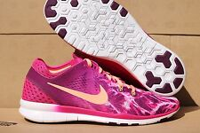 Nike Free 5.0 TR Fit 5 Print Woman's Running/Cross Training Shoes Sz. 8