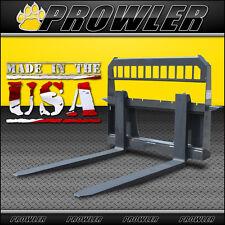 Adjustable Extreme Duty 48 Inch Skid Steer Loader Pallet Forks and Frame
