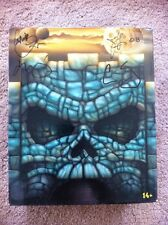 MASTERS OF THE  UNIVERSE MOTUC SDCC EXCLUSIVE KING GRAYSKULL SIGNED BY 4HORESMEN