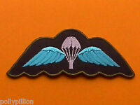 MILITARY SPECIAL FORCES SEW ON / IRON ON PATCH:- PARACHUTE REGIMENT PARAWINGS