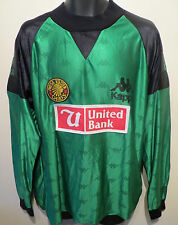 RARE Kappa 1994 Player Issue Kaizer Chiefs Football Shirt Goalkeeper Jersey XL