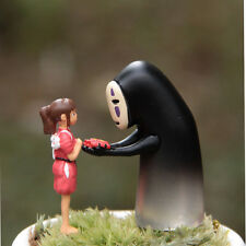 Kaonashi Figurine Spirited Away Faceless Action Figure No Face Chihiro Landscape