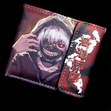 Anime Tokyo Ghoul Leather Wallets Fashion cosplay Two-fold Purse Free shipping