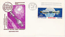SPACE COVER -APOLLO SOYUZ UNK. CACHET MAKER - SEPARATION CAPE CANAVERAL FL CANCE