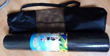 NEW IMPORTED BLACK YOGA PILATES MAT with cover bag 2 pc. left!