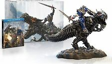 Transformers Age of Extinction Limited Edition Set Collectible Statue Blu-Ray