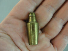 SOLID BRASS MINI MINIATURE DOLLHOUSE COCKTAIL SHAKER MIXER DECORATIVE VINTAGE