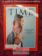 TIME February 16 1968 Feb 2/16/68 VIETNAM JOHN KENNETH GALBRAITH