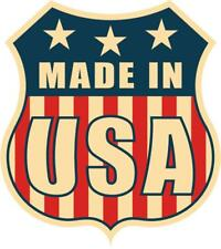 Pegatina sticker adhesivo moto coche tuning bandera usa americano made in