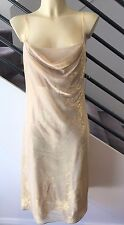 STUDIBAKER Gold Shimmer EVENING WEAR Cocktail DRESS Size 12 NEW w TAGS $179