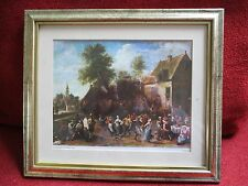 David Teniers Countryside Fiesta framed print picture