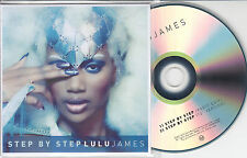 LULU JAMES Step By Step 2013 UK 2-track promo test CD