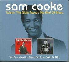SAM COOKE TWISTIN' THE NIGHT AWAY / MY KIND OF BLUES - 2 CD BOX SET