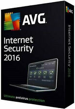 AVG  2016 INTERNET  SEGURITY   2 AÑOS 3 PCs (CLAVE ORIGINAL)*