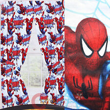 Spider Sense Spiderman Drapes Window Panels Curtains with Tie Backs