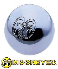MOON EYES CHROME GEAR SHIFT KNOB WITH LOGO UNIVERSAL HOT RODS ETC MNAA004MN