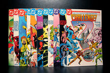COMICS: DC Challenge #1-12 (1980s) set -RARE (figure/batman/flash/superman)