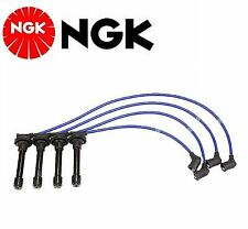 NGK Spark Plug Ignition Wire Set For Honda Civic Si; 1.6L 1999-2000