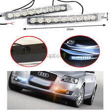 12v 9 LED Daytime Running Light DRL Fog Lamp for Audi Audi C6 A6 S6 Q5 Q7
