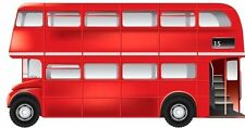 Bus London Bus Transport Sticker Decal Graphic Vinyl Label V2