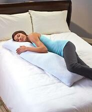 LARGE MEMORY FOAM COOLING GEL BODY PILLOW STAYS COOL BED PILLOW