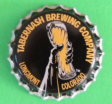 Unused Bottle Cap OOB Tabernash Brewing Beer Company Longmont Colorado Micro VTG