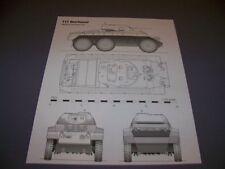 VINTAGE..T17 DEERHOUND & T24 SCOUT CAR.. 4-VIEWS/DETAILS..RARE! (890G)
