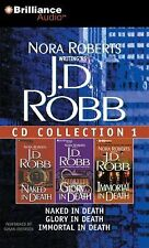 J. D. Robb Collection 1 : Naked in Death; Glory in Death; Immortal in Death 0...