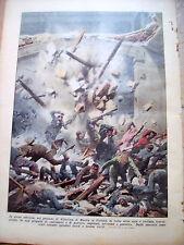 366) 1932 CROLLO TRIBUNALE DI BASTIA IN CORSICA DOMENICA DEL CORRIERE