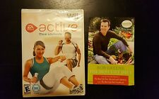 Wii active more workouts EA Sports, sealed, with Bob Greene Best life Diet Book